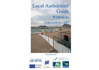 "Guide ARCOPOL ""Local Authorities guide. What to do in the event of a spill"""