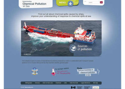 Understanding Chemical Pollution at Sea