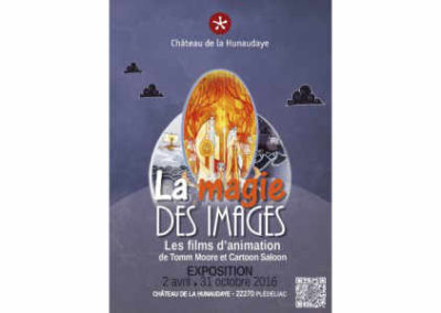 "Temporary exhibition ""The Magic of Images"", Château de la Hunaudaye"