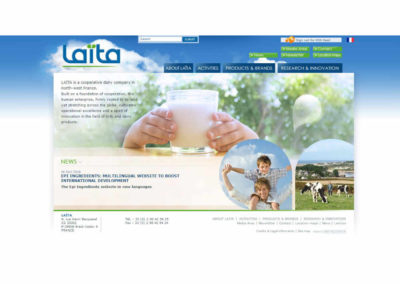 Site Internet Laïta