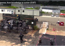 Presentation video for a specialised spill response centre